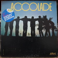 BOSSA COMBO ACCOLADE GATEFOLD COVER US PRESS LP 1978