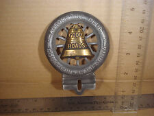 AAA Automobile Club Southern California Bell License Plate Wall Car Motorcycle