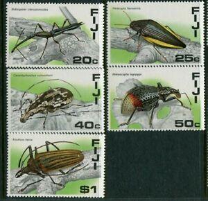 FIJI....  1987 insects  set    mnh