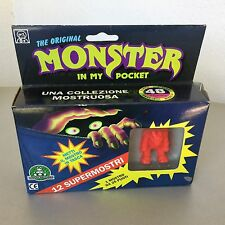 1990 #MATCHBOX MONSTER IN MY POCKET # 11+1 SUPER MONSTER BOX#NIB