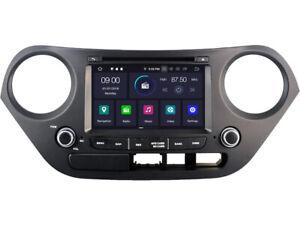 Android 10.0 GPS Navigation DVD Radio Stereo For Hyundai Grand I10 2014-2019
