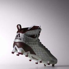 Adidas Adizero 5-Star 4.0 Mid Football Men's Shoes Size 13 C77964 Maroon Silver