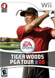 Tiger Woods PGA Tour 08 - Nintendo  Wii Game