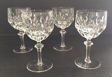 Nachtmann Crystal PATRIZIA Lot Of 4 Wine Glasses