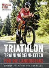 Triathlon-Trainingseinheiten für die Langdistanz Buch NEU original verpackt Top