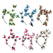 Women Fashion Butterfly Hair band Headband Wedding Party Prom Accessories