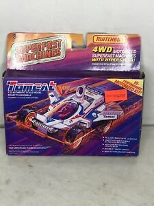 1989 Matchbox 4WD motorized Super Fast Machines Model Tomcat