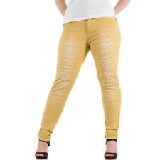 Markenlose Hosengröße 50 Damen-Jeans in Übergröße