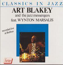 Art Blakey The Jazz Messangers feat. Wynton Marsalis Classics In Jazz CD Fortune