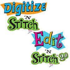 Digitize N Stitch & Edit N Stitch 2.0 Combo