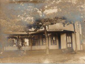 1908 Thompson Home Deaconess Mountain Lake Park Maryland MD RPPC Photo Postcard