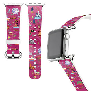 Dooney&Bourke Disney Park Apple Watch Band Series 3 4 5 6 SE 38/40/42/44mm 432