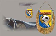 BOSNIA SOCCER FLAG CAR MINI BANNER, PENNANT