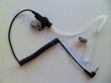 High Noise Foam Ear Tip 3.5 mm Listen Only Acoustic Tube Ear Piece for Speaker