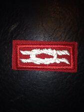 "OA Distinguished Service Award Knot on Red Weave, ""BSA 2010"" Back, Mint"