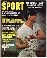 1968 (Jun.) Sport Magazine Baseball Carl Yastrzemski,Boston Red Sox~ Part. LABEL