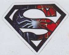 Superman Spiderman sticker