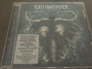 TOOTHGRINDER - Nocturnal Masquerade CD Meshuggah Between The Buried And Me