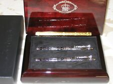 DUKE GREEK SEA GODDESS  Collector's Edition Roller & Fountain Pen Set $3,000 NEW