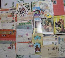 lotto cartaceo con buste santini cartoline