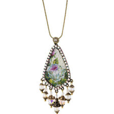 Michal Negrin Quilt Beads Necklace
