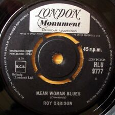 Roy Orbison Single 45RPM Speed Music Records