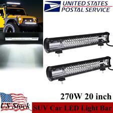 New listing 20 Inch Led Light Bar Offroad Car Flood Spot 270W Work Lamp Suv Truck Boat Lamp