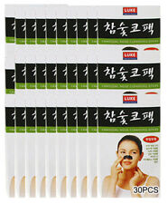Korean Charcoal Nose Pore Cleansing Strips Blackhead Peel Off mask pack_30 pcs