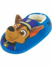 Paw Patrol Chase Boy's Blue 3D Slippers