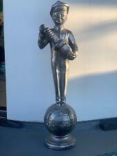Bosch Spark Plug Man Advertisement Statue Diecast Handmade