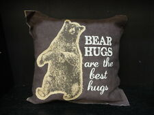 "Throw Pillow ""Bear Hugs Are The Best ""- Primitives By Kathy Throw Pillow"