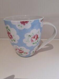 Cath Kidston Provence Blue Rose Large Crush Mug by Churchill