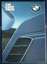 BMW: K100, K100RT & K100RS - Motorcycle Brochure - Nov 1983 - #3 11 20 02 20