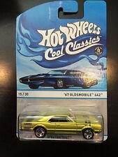 Hot Wheels Cool Classics  '67 Oldsmobile 442  Blue Card   HotWheels