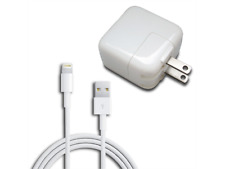 APPLE Original Genuine OEM 12W USB Wall Charger & Cable for iPhone, iPad, Etc.