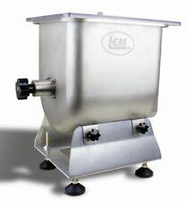 LEM 50 lb Meat Mixer Hand Crank or Motorized W/ LEM Electric Grinder