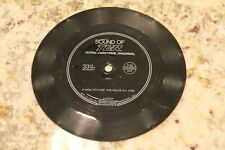 RARE! 1979 Sound of TCR Total Control Racing Flexi Disc Recording of Race Sounds