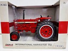 International Harvester 756 1/16 Die-Cast Metal Replica Tractor Toy