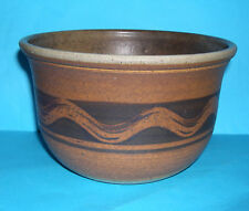 Mick Morgan Talog Studio Pottery Wales- Attractive Abstract Design Planter (M.M)