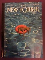 "The New Yorker Magazine July 9-16 2018 ""Downtime"" by Mark Ulriksen FREE SHIP"