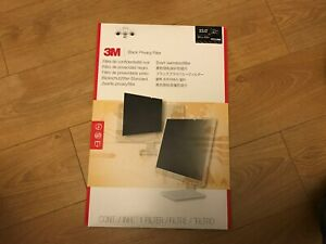 "3M Black Privacy Filter for 23"" Widescreen Monitors PF23.0W9 - Brand New Sealed"