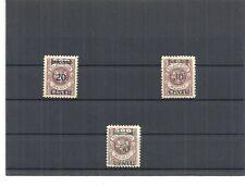 Memel, Litauen 1923, Einzelmarken aus MiNrn: 167 - 173 *, ungebraucht  mit Falz*