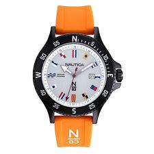 Nautica Watch NAPCBS908 Cocoa Beach Calendar, Signal Flag Indexes, Solar Powe...