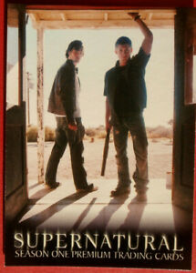SUPERNATURAL - Season 1 - Promo Card SN-1 - Inkworks 2006