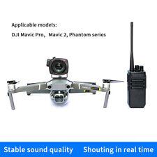 DJI Mavic Pro 2 Phantom 3 4 Pro Drone Wireless Calling Speaker Clear Megaphone