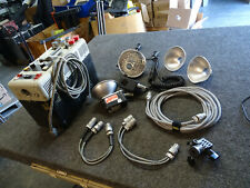 Lot Norman P2000B Battery Portable Flash System w/ 2 Lamp Heads LH2 LH52