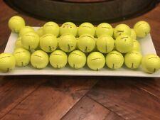 36 **2020** YELLOW Titleist Pro V1 AAAAA Used ++Mint++ Golf Balls