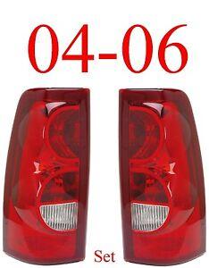 04 06 Chevy Tail Light Set, Silverado, 07 Classic, Full Assembly, NIB Both Sides