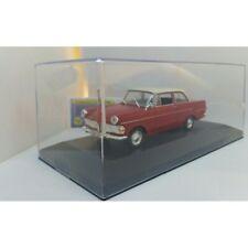 Opel Rekord p2 Caravan coche familiar rojo 1960-1963 h0 1//87 Wiking modelo coche con o...