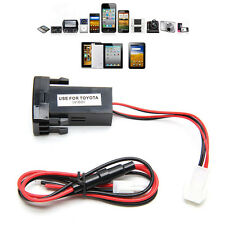 Universal Dual 2-port USB Car Charger Car Socket Adapter 12V for Toyota VIGO NEW